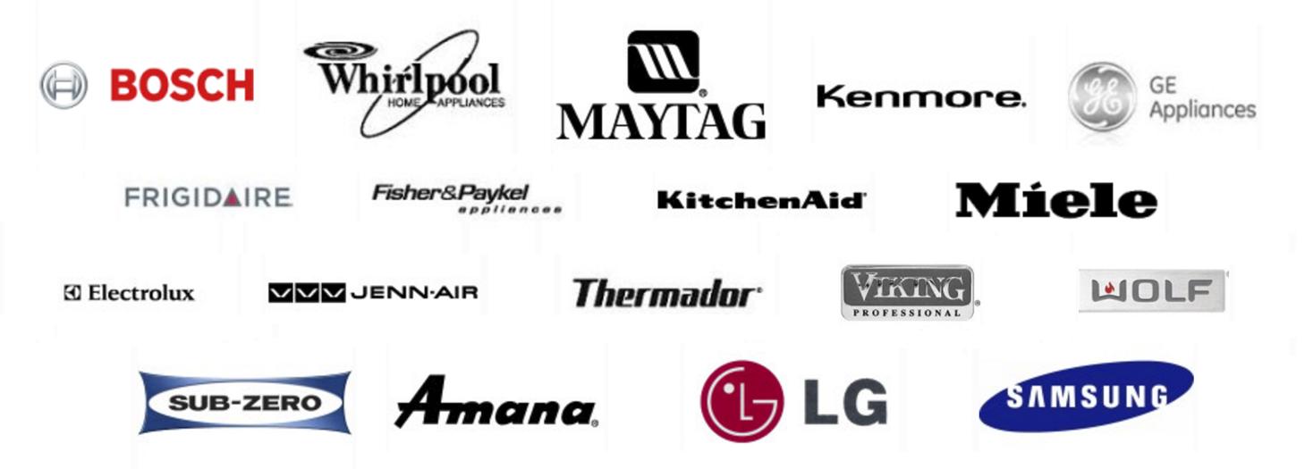 LG washing machine, Bosch washer, Maytag, Samsung washer, Whirlpool washing machine, Speed Queen, Defy, Electrolux repairs