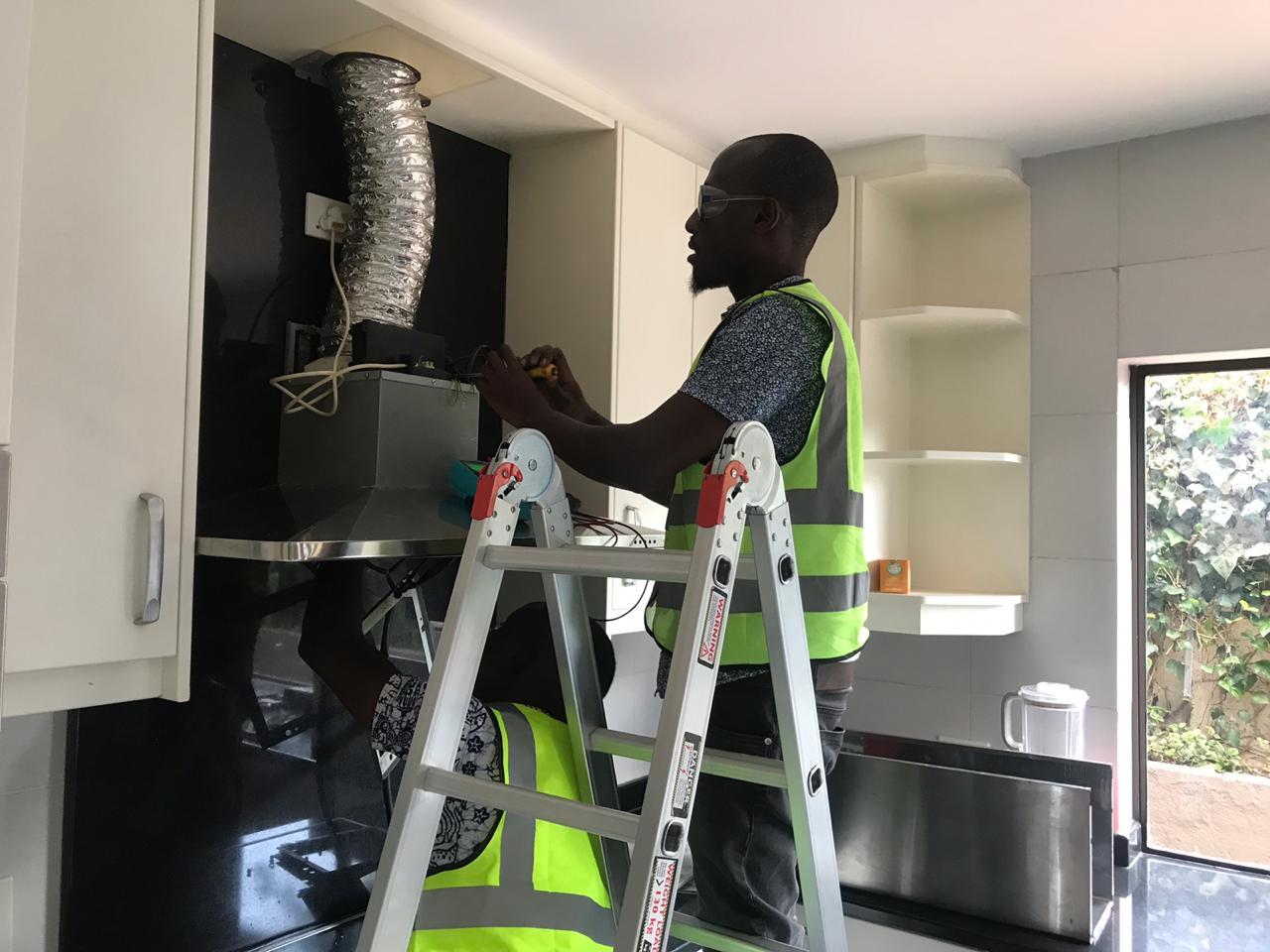 Extractor fan repairs