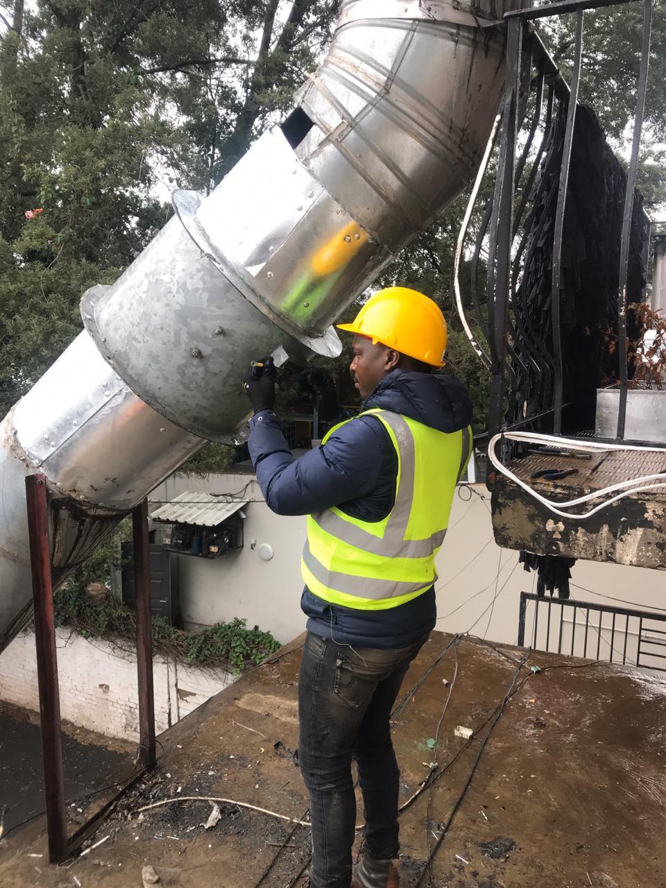 certified Extractor vent installers around johannesburg